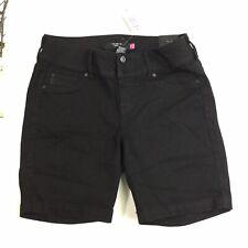 Torrid Denim Women Size 16 Black Jegging Shorts 4B