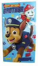 Paw Patrol birthday card for a BROTHER by Danilo - PA003B