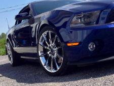 Mustang Black Mamba Design 5x114.3 20x9 20x10 2005-2018 - Chrome Set of 4 Wheels