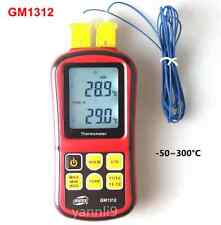 GM1312 Digital Thermometer Temperature Meter for J K T E N R S Type Thermocouple