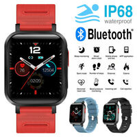 Waterproof Smart Watch Heart Rate Blood Pressure 24 Sport Modes For iOS Android