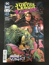 Justice League Dark #1 DC 2018 Upside Down Man NM 9.4 Unread