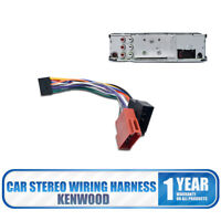 KENWOOD 16 PIN Adaptor Loom Connector Car Wiring  Harness Radio ISO Stereo Cable