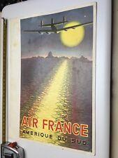 Petite Affiche Air France Pochette Carton