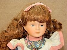 SEPTEMBER 7 inch CUTE BLUE SAPHIRE DOLL w/ STAND, NO BOX!!