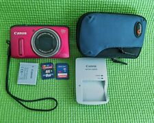 Canon PowerShot SX240 HS 12.1MP Digital Camera - Pink_ Bundle_16GB+8GB