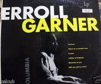 Scarce ERROLL GARNER Solo 33 LP 6-eye Caravan Avalon Lullaby of Birdland CL 535