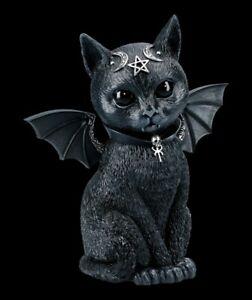 Okkulte Katzenfigur mit Flügeln - Malpuss groß - Nemesis Now Kätzchen Dekostatue