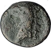 PHOKAIA in IONIA 350BC Genuine Authentic Ancient Greek Coin NYMPH GRIFFIN i63225