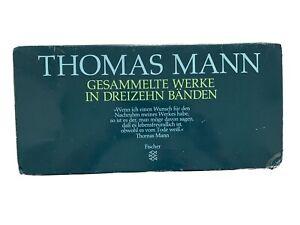 Thomas Mann Gesammelte Werke 12 Von 13 Bänden- Neuwertig