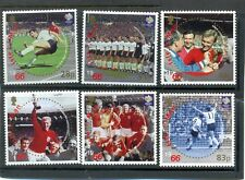 Isle of Man Football-- England World Cup Winners 1966 mnh set Bobby Moore,etc