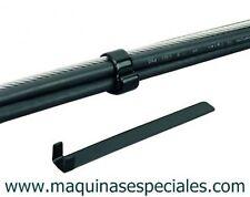 Klammer Flansch Stahl Plastifizierte 10x125mm OMAX 25mm Kunststoff beschichtet