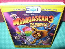 MADAGASCAR 3  - BLU-RAY 3D - BLURAY 3D -