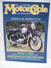 Classic Motor Cycle Magazine, 12 issues 1986 complete