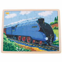 Bigjigs Toys Wooden Mallard Train Chunky Tray Puzzle (35 Piece)