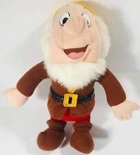 "Disney Snow White and the Seven Dwarfs Happy Plush Mattel 1993 12"" Stuffed Toy"
