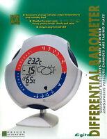 STAZIONE METEOROLOGICA METEO BAROMETRICA OREGON SCIENTIFIC BAROMETRO DBA112