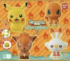 Bandai Pokemon Capchara Figure series 7 Pikachu scorbunny Vulpix Charmander