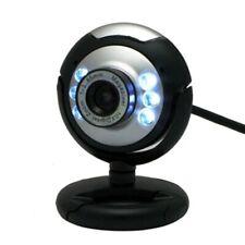 Webcam USB haute définition 12.0 MP 6 LED veilleuse Web caméra buit-in micro