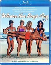 WHERE THE BOYS ARE (1984) Blu-Ray 80's TEEN SEX Comedy LYNN HOLLY JOHNSON *RARE