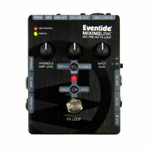 Eventide Mixing Link High Quality Mic Pre With FX Loop