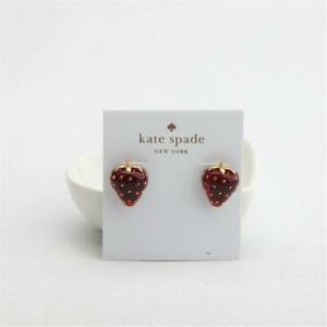 Kate Spade New York  Tutti Fruity Stawberry Stud Earrings
