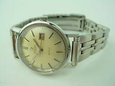 OMEGA AUTOMATIC DE VILLE DATE STAINLESS STEEL 1950s 27mm Women WATCH