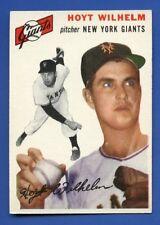 1954 Topps # 36 Hoyt Wilhelm - HOF - New York Giants - EX  Additional ship free