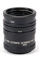 Soligor Zwischenring Extension Tube Set  - P - 16mm 8mm 32mm M42 M 42
