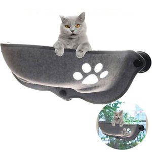 1PC Cat Ferret Window Seat Pad Bed Car Pet Hammock Suction Cup Warm  Perch VM
