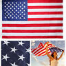 3x5 Ft American Flag Embroidered Stars USA U.S. US Nylon Sewn Stripes Grommets