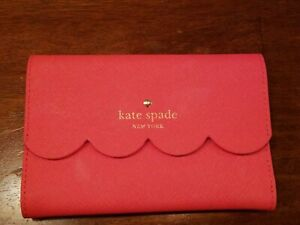 Authentic KATE SPADE New York Small Size Snap Back Tri-Fold Wallet SUPER CUTE!