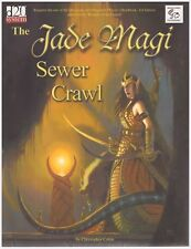 Jade Magi Sewer Crawl: d20 Rpg Adventure Softcover Book - Excellent Condition