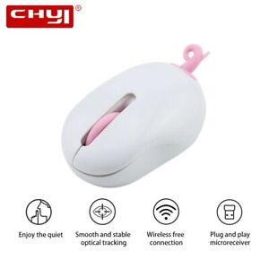 Wireless Mini Computer Mouse Cute Creative Optical Usb Mause 3d Ergonomic Silent