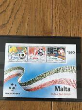 Block 11 postfrisch ** Malta Sport Fußball