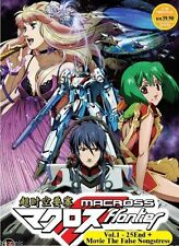DVD Macross Frontier Vol. 1 - 25  + Movie The False Songstress Ship From Usa