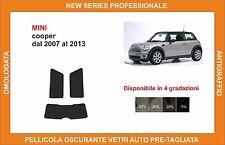 pellicola oscurante vetri pre tagliata mini cooper dal 2007 al 2013 kit post
