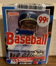 Donruss 1991 The ROOKIIES Baseball Cards and Puzzle & 1988 Donrus Cello Pack