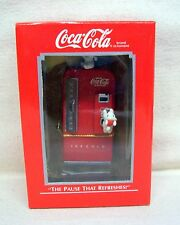 "Enesco Ornament #1 In The Coca-Cola Series ""The Pause That Refreshes"" 1989 New"