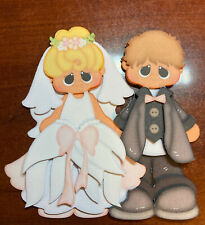 Bride & Groom  Wedding paper piecing premade piecing  die cut CFAIRIES
