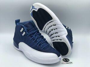 """Nike Air Jordan 12 """"Indigo"""" Size 10 130690-404 FREE SHIPPING"""