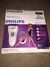 Philips HP6576 Satin Perfect Deluxe Epilator, White/Champagne *Open Box*
