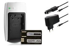 Chargeur+Batterie pour Canon EOS 5D, 10D, 20D, 20Da, 30D, 40D, 50D, 300D, D30