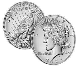 Peace 2021 Silver Dollar 21XH - Presale Confirmed Order