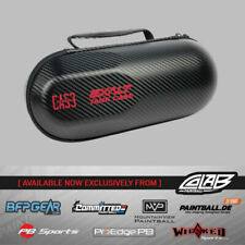 Exalt Paintball Black Carbon Paintball Tank Protective Travel Case Red New