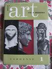 L'art et l'homme René Huygue Larousse 3 volumes 1958 illustré Très bon état