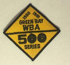 1980-81 Green Bay Wba 500 Series Bowling Patch