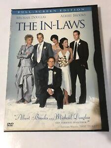 THE IN-LAWS DVD 2003 Canadian Full Screen Michael Douglas Albert Brooks