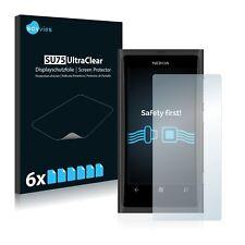 6x Displayschutzfolie für Nokia Lumia 800 Schutzfolie Klar Folie Displayfolie