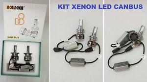 Kit luce XENON LED 12V CANBUS ultra bianco 6000K omologato. Xeno.H1,H3,H7,H11